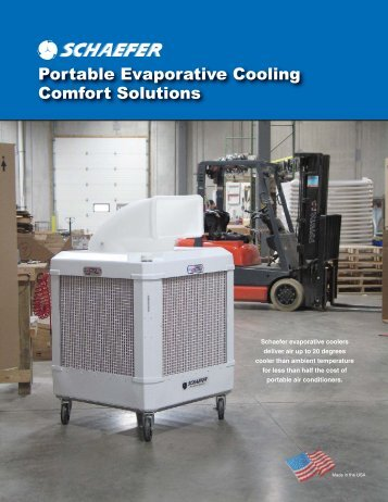 Pro-Kool and WayCool Evaporative Cooling Fans Brochure