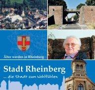 Älter werden in Rheinberg - Sen-Info