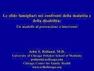 John Rollan - Le sfide familiari nei confronti della malattia - ISPPREF