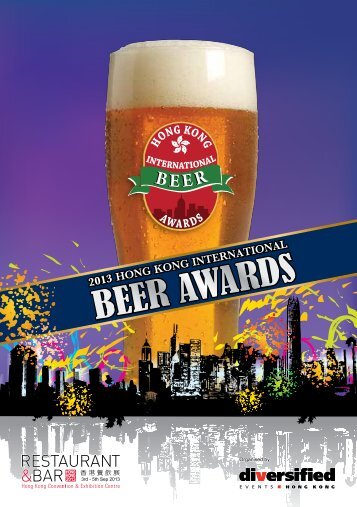 to download Beer Awards Booklet 2013 - Restaurant & Bar Hong Kong