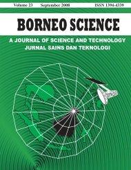Volume 23 - SST - Sekolah Sains & Teknologi - Universiti Malaysia ...