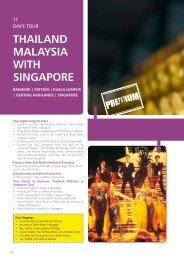 THAILAND MALAYSIA wITH SINGAPORE - Mercury Travels