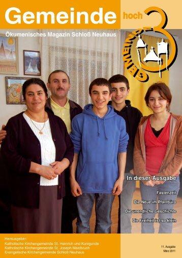 Ausgabe 11 - März 2011 - Kath. Kirchengemeinde St. Heinrich und ...