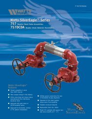 Watts SilverEagle™ Series Watts SilverEagle ... - Clean My Water
