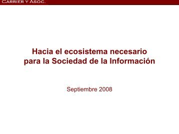 Director de CARRIER Y ASOCIADOS - CICOMRA