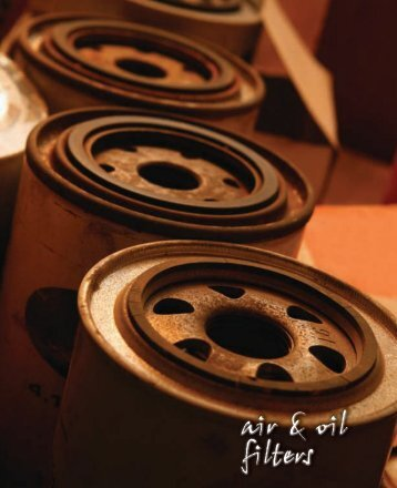 Air and Oil Filters - Automatic Distributors
