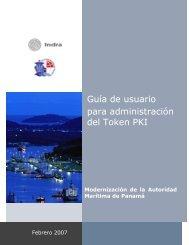 Guía de usuario para administración del Token PKI - Autoridad ...