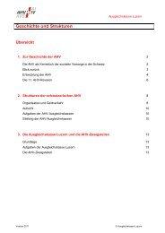 Geschichte und Strukturen - Ausgleichskasse Luzern
