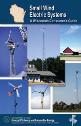 Small Wind Electric Systems - RENEW Wisconsin