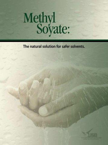 Methyl Soyate - Soy New Uses