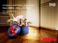 Case «HEKS – Hilfe schenken - Goldbach Group