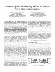 Precoded Spatial Multiplexing MIMO for Inhome Power Line ...