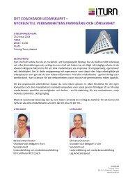 det coachande ledarskapet - Malmobusiness.com