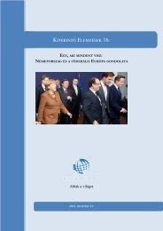 Németország és a föderális Európa gondolata - Kitekintő