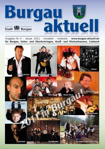 Ausstellung im Schloss Burgau 19. Dezember bis 23 ... - Stadt Burgau