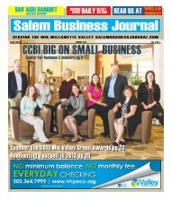 Jan. 2013 - Salem Business Journal