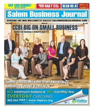 Jan. 2013 - Salem Business Journal