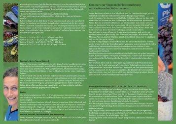 Seminare zur veganen Rohkosternährung - Sanna Almstedt