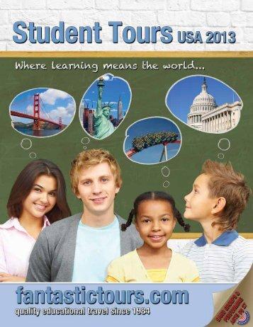 Download our 2012-2013 Tour Brochure! - Fantastic Tours