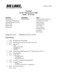 Protokoll der BV-Sitzung vom 6.4.2009 (pdf) - Reinickendorf