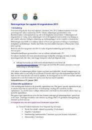Kunngjøring for opptak til krigsskolene 2010 - Forsvaret
