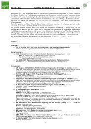 E-Mail Dokumentvorlage - AECC-Bio