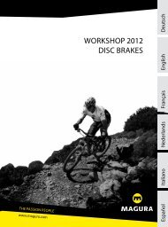 Workshop Manual MT 2012 | english - Magura