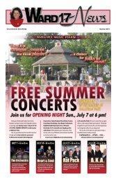 Ward 17 News ~ Summer 2013 - Cleveland City Council