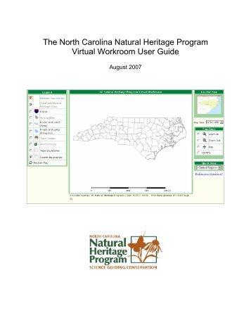 The North Carolina Natural Heritage Program Virtual Workroom ...