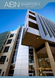 2011 Quarter 3 - AIBN - University of Queensland
