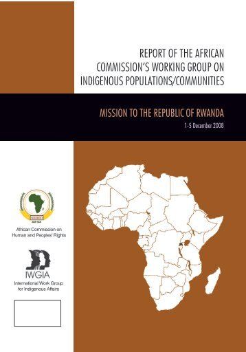 report of the african commission's working group on indigenous ...