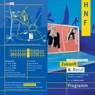 Z&B Programm_7-11-08 - Zukunft und Beruf