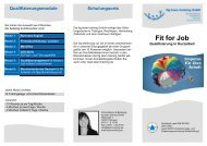 Fit for Job - ttg team training GmbH