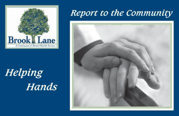 Helping Hands - Brook Lane Health Services