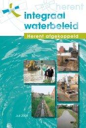 Integraal waterbeheer juli 2008 - Gemeente Herent