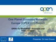 Presentation - OPEN:EU Scenarios Workshop Drivers - One Planet ...