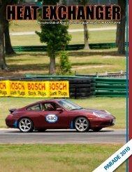 Parade 2010 - Shenandoah Region Porsche Club of America