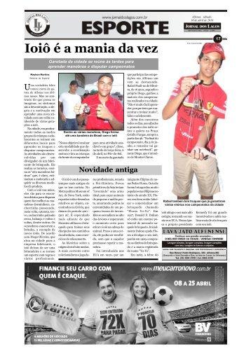 Ioiô é a mania da vez - Jornal dos Lagos