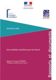 Une ambition maritime pour la France - Institut Français de la Mer