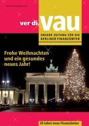Weihnachtsausgabe 2010 - Vau-online.de