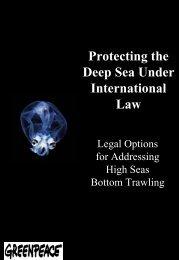Executive summary - The Deep Sea Conservation Coalition
