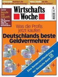 Der Mix macht's - Deutsche Bank