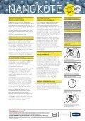 Reece Product Brochure | Nanokote | Protective Coating - Page 2