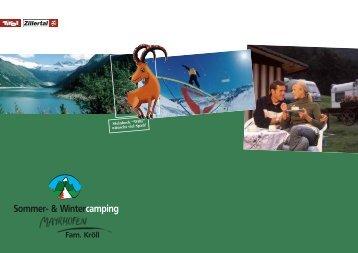 Sommer- & Wintercamping - Camping Mayrhofen