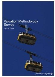 Valuation Methodology Survey – 2007/08 Edition - PwC