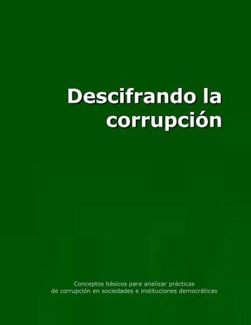 Descifrando la corrupción - Offnews.info