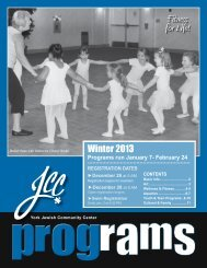 Fitness for Life! - Jewish Community Center