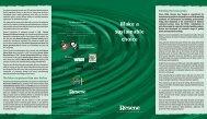 Make a Sustainable Choice brochure - Resene