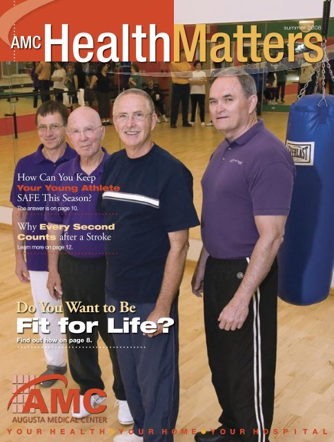 Fit for Life? - Augusta Health