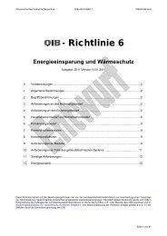 OIB-Richtlinie 6